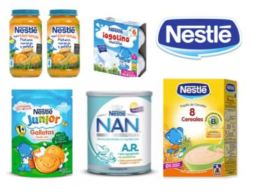 Bebitus te ofrece descuentos de hasta el 25% en los productos para bebés de Nestlé