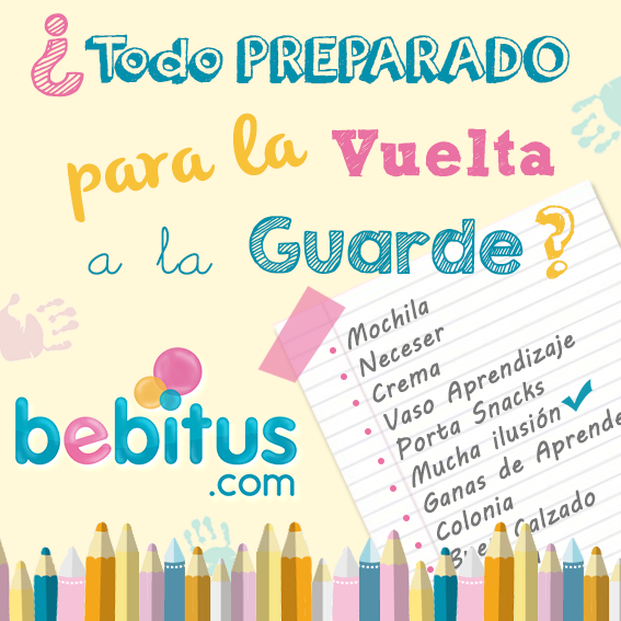 La tienda online Bebitus ayuda a los padres en la vuelta a la guardería