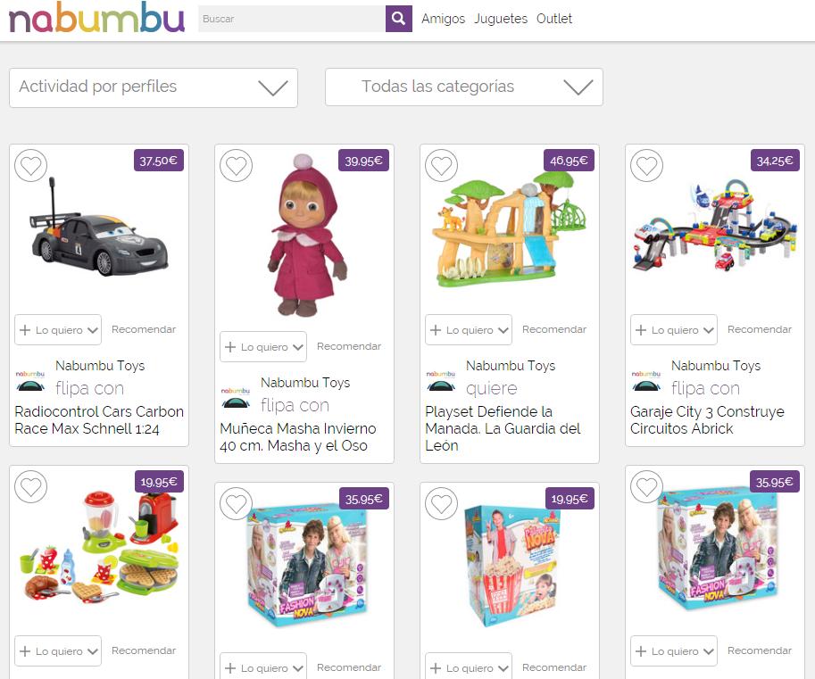 La tienda online Nabumbu estrena entrega de juguetes el mismo día esta Navidad