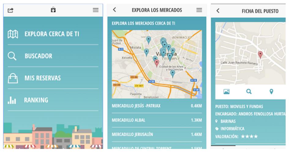 Encuentra los mercadillos cercanos y las mejores ofertas con la app Mercactivate