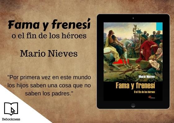 Imagen libro Fama y frenesí de Mario Nieves