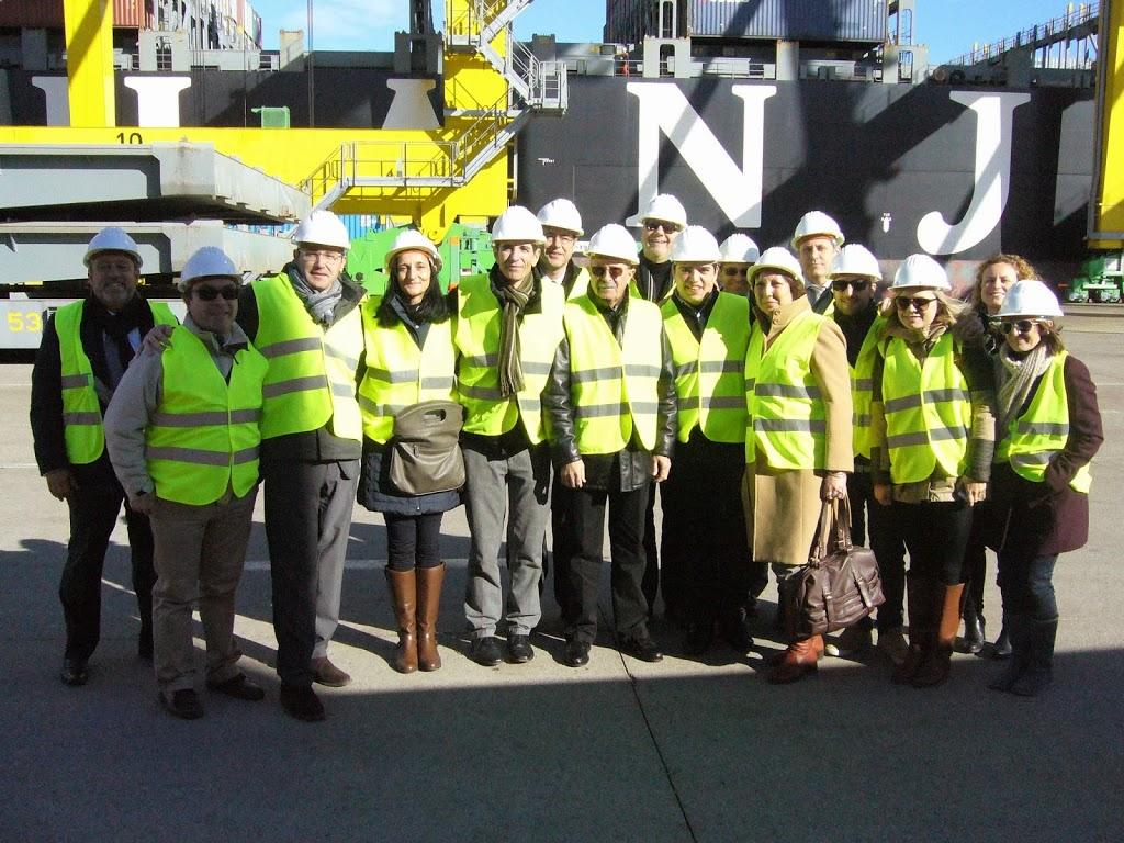 Las delegaciones del Grupo Moldtrans visitan los puertos de Valencia y Barcelona