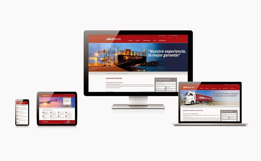 Moldtrans adapta su web y blog a las últimas tecnologías