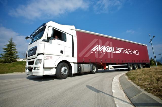La división de transporte del Grupo Moldtrans cierra el ejercicio con un aumento en su cifra de negocio