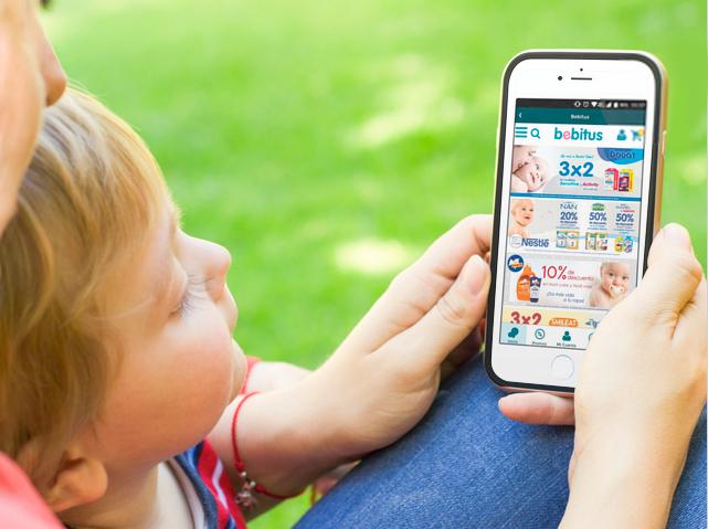 La nueva app de Bebitus pone la mayor tienda online para bebés en la palma de tu mano
