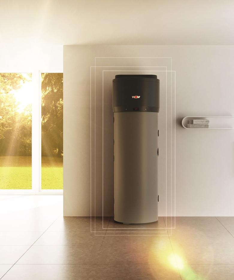 Nueva bomba de calor SWP de WOLF: más eficiencia, versatilidad y facilidad de instalación