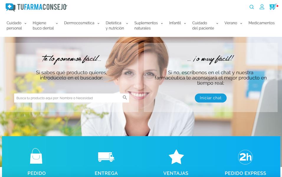 TuFarmaConsejo innova en el sector de las farmacias online con envíos urgentes en menos de 2 horas