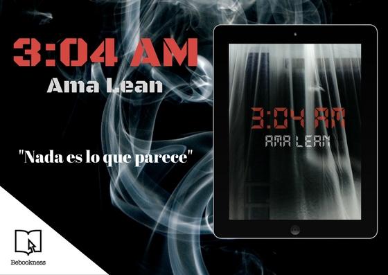 "El thriller ""3:04 AM"", primera novela del escritor español Ama Lean"