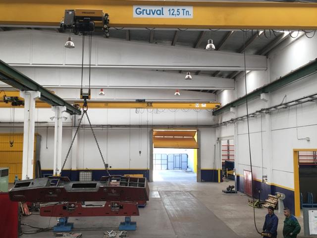 CM Llamada confía en Gruval para sus nuevas instalaciones