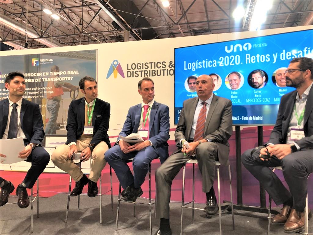 Participación destacada de MOLDSTOCK Logística en Logistics Madrid 2019