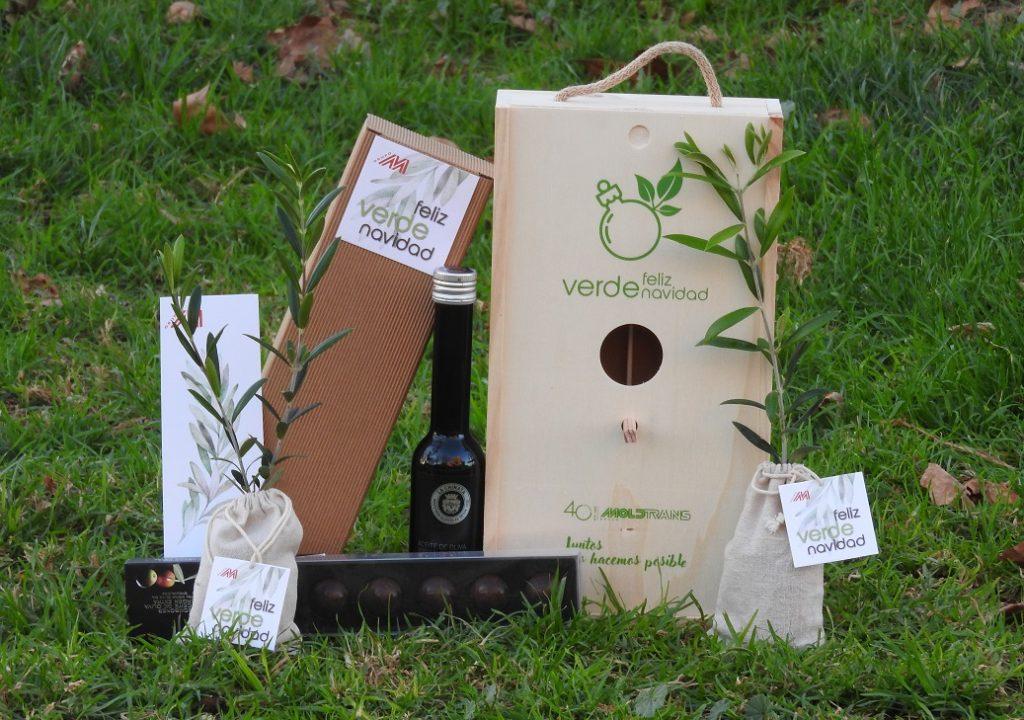El  Grupo Moldtrans felicita las navidades promoviendo la plantación de 1.000 árboles