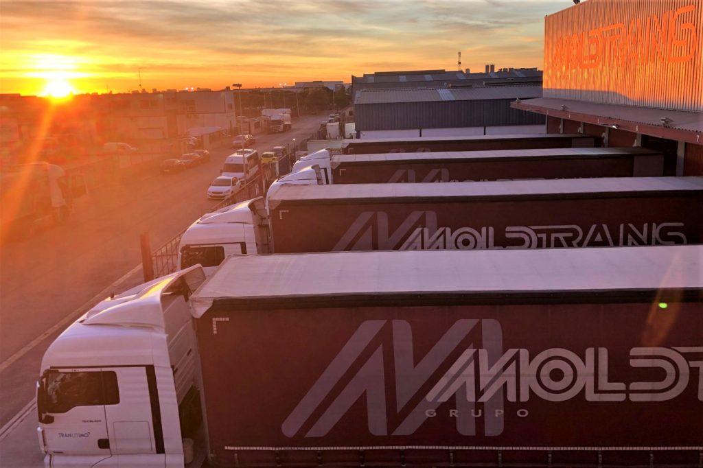 El servicio de transporte terrestre diario del Grupo Moldtrans con Italia cumple 20 años